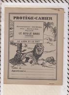 8/32 Protège Cahier PUB LE ROY LE BARS TREGOMEUR Illustrateur DUTE  Faibles De La Fontaine LE LION ET LE RAT - Perfume & Beauty