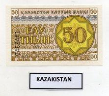 Kazakistan - 1993 - Banconota Da 50 Tiyn - Nuova -  (FDC9815) - Kazakistan