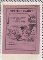 8/33 Protège Cahier PUB LE ROY LE BARS TREGOMEUR Illustrateur DUTE  Faibles De La Fontaine LE RENARD ET LA CIGOGNE - Perfume & Beauty