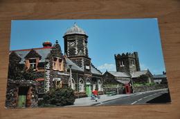 118- The Market Hall And Parish Church, Tywyn - Wales