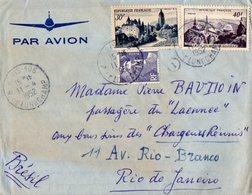 TB 2314 - LAC - Lettre Par Avion De PARIS Pour RIO DE JANEIRO ( Brésil ) - Poste Aérienne
