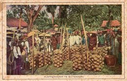 ASIE INDONESIE KLAPPERMARKT TE BUITENZORG MARCHE A BUITENZORG - Indonésie
