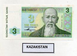 Kazakistan - 1993 - Banconota Da 3 Tenge - Nuova -  (FDC9817) - Kazakistan