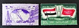 EMISSIONS 1959 - NEUFS ** - YT 446/47 - MI 560/61 - Egypt