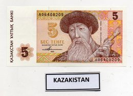 Kazakistan - 1993 - Banconota Da 5 Tenge - Nuova -  (FDC9818) - Kazakistan