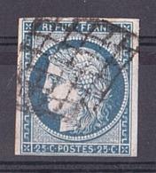 France - 1850 - Cérès N° 4 - Oblitération Grille - Stamps