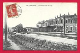 CPA Chalindrey - Vue Intérieure De La Gare - Chalindrey