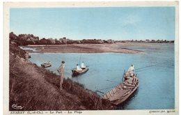Loir Et Cher - AVARAY - Le Port - La Plage - Pêcheurs - 1938 - France