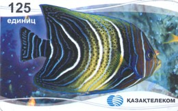 *KAZAKISTAN* - Scheda A Chip Usata - Kazakhstan
