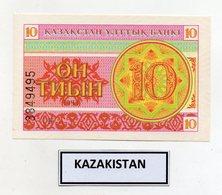 Kazakistan - 1993 - Banconota Da 10 Tiyn - Nuova -  (FDC9819) - Kazakistan