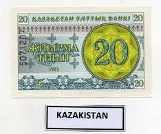 Kazakistan - 1993 - Banconota Da 20 Tiyn - Nuova -  (FDC9820) - Kazakistan