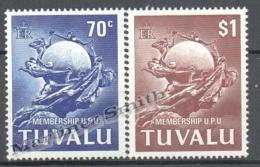 Tuvalu 1981 Yvert 161-62, UPU Membership - MNH - Tuvalu
