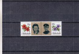 Aitutaki - Fleurs - Familles Royales - Mariage Princesse Anne - Aitutaki