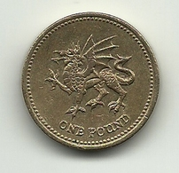 2000 - Gran Bretagna 1 Pound, - 1971-…: Dezimalwährungen
