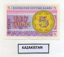 Kazakistan - 1993 - Banconota Da 5 Tiyn - Nuova -  (FDC9821) - Kazakistan