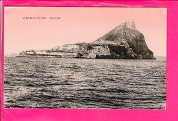 Cpa  Carte Postale Ancienne  - Gibraltar Rock - Gibraltar