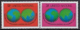 UNITED NATIONS New York 326-327,unused - New York -  VN Hauptquartier