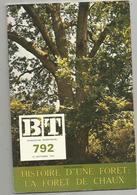 Bibliothéque De Travail, N° 792 , 1974,  LA FORÊT DE CHAUX , JURA  , 40 Pages ,frais Fr 1.95 E - Franche-Comté