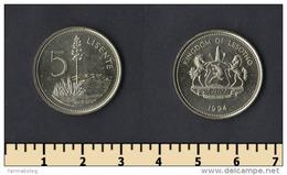 Lesotho 5 Lisente 1994 - Lesotho