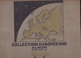"Album 260 X 320 Mm, 30 Pages, Poids = 1000 Gr ""SUCHARD"" Collection Européenne - 1934 - Complet : 300 Images - Suchard"