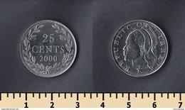 Liberia 25 Cents 2000 - Liberia