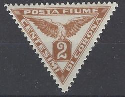 Fiume Periodicos 1 * Charnela. 1919. - 8. Occupazione 1a Guerra