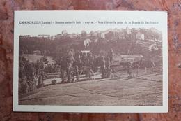 GRANDRIEUX (48) - STATION ESTIVALE - VUE GENERALE PRISE DE LA ROUTE DE SAINT BONNET - Gandrieux Saint Amans