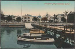 View From Jetty Esplanade, Durban, Natal, C.1910 - Rittenberg Postcard - South Africa