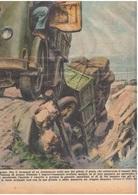 Rovigo Fontana Di Ariano Polesine 1952 Copertina Da La Domenica Del Corriere - Libri, Riviste, Fumetti