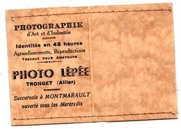 Petit Porte Photo Tronget Allier Photo Lépée - Publicités