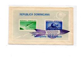 MK681 - REPUBLICA DOMINICANA :  Spazio, Razzo , Raket  Il BF  28/07/1964 - Repubblica Domenicana