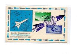 MK683 - REPUBLICA DOMINICANA :  Spazio, Razzo , Raket  Commemorativi  28/07/1964 - Repubblica Domenicana