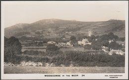 Widdecombe In The Moor, Dartmoor, Devon, C.1950 - Cox RP Postcard - England