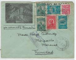 Liaison Aérienne Brésil Du 6/05/1932 Pour Trinidad Par La Panair Arrivée Le 11 Mai 1932 TB - Luchtpost