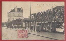 91 - MONTGERON - PLACE DU MARCHÉ - JOUR DE MARCHÉ - 1906 - Montgeron