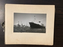 SUEZ CANAL AUTHORITY EGYPT , GREETING CARD - Schiffe