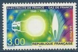 """FR YT 2996 """" Electricité Gaz De France """" 1996 Neuf** - France"""