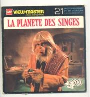 """Pochette VIEW - MASTER """" La Planète Des Singes """" Complet Avec Ses 3 Disques Photos Stéréoscopiques (hh) - Stereoscopes - Side-by-side Viewers"""