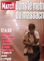PARIS MATCH REVUE DE PRESSE N° 2410 MAGAZINE 3 AOÛT 1995 BOMBE A LA STATION SAINT MICHEL JOSÉPHINE BAKER ETAT - Serbon63 - Informations Générales