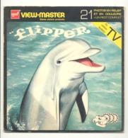 """Pochette VIEW - MASTER """" Flipper """" Complet Avec Ses 3 Disques Photos Stéréoscopiques (hh) - Visionneuses Stéréoscopiques"""