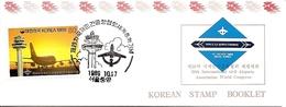 KOREA SOUTH, 1989, Booklet Philatelic Center 19, Civil Airports - Corea Del Sud