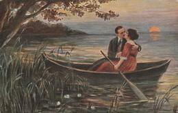 Illustrateur : Amoureux Au Clair De Lune : ( Illust. à Définir ) - Illustrators & Photographers