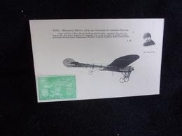 """Aviation. Le Monoplan Blériot Piloté Par Conneau. Vignette . """" Paris - Rome - Turin 28 Mai - 15 Juin  1911.Voir 3 Scans. - Non Classés"""
