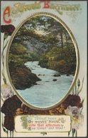 Greetings - A Joyous Birthday, 1912 - Birn Brothers Postcard - Birthday