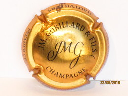 Capsules Ou Plaques De Muselet  CHAMPAGNE J.M.GOBILLARD  Et  FILS PREMIER CRU  HAUTVILLERS - Champagne