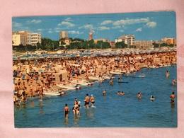 Cartolina-Rimini-Riviera Adriatica-Spiaggia - Rimini