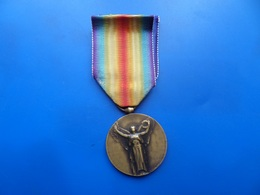 Medaille Interalliée 14-18   , Medaille WW1 , Medaille France - France