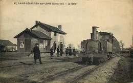 LOIRE ATLANTIQUE  SAINT SEBASTIEN SUR LOIRE  La Gare - Saint-Sébastien-sur-Loire