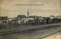 LOIRE ATLANTIQUE  SAINT SEBASTIEN SUR LOIRE  Vue Prise De La Gare - Saint-Sébastien-sur-Loire