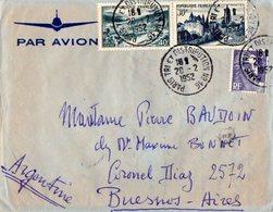 TB 2322 - LAC - Lettre Par Avion De PARIS Pour BUENOS - AIRES ( Argentine ) - Poste Aérienne